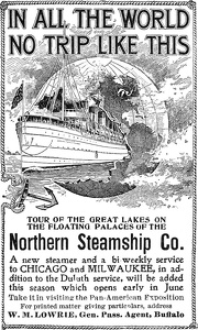 Northern Steamship Company -1901A