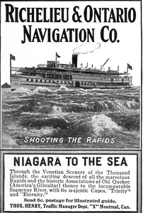 Richelieu and Ontario Navigation Company -1909A