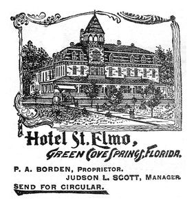 Hotel St. Elmo Green Cove Springs, FL -1894A