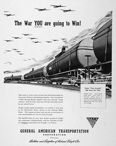 GATX Railroad Cars -1942B