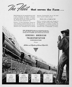 GATX Railroad Cars -1942D
