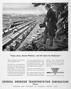 GATX Railroad Cars -1943A