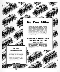 GATX Railroad Cars -1945A