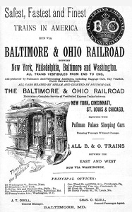Baltimore and Ohio -1893A