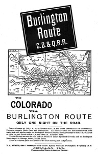 Burlington Route -1892B