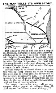 Chicago Milwaukee and St. Paul -1893A