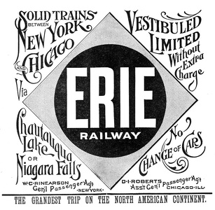 Erie Railroad -1891A