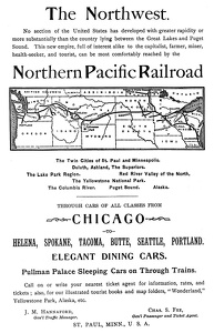 Northern Pacific -1892A