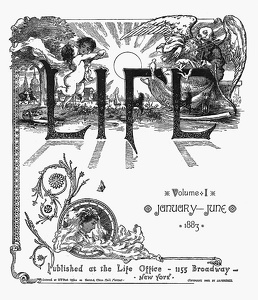 Life 1883 First Half Title Page