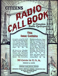 Citizens Radio Call Book 1924-05