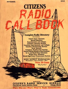 Citizens Radio Call Book 1922-11