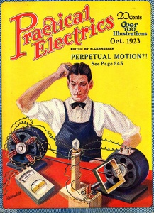 Practical Electrics, one of Gernsback's popular technology magazines