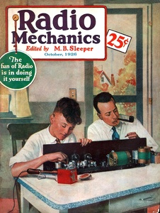 Radio Mechanics 1926-10