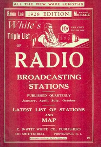 White's Radio Log -1928