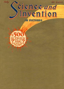 Science and Invention 1924-07
