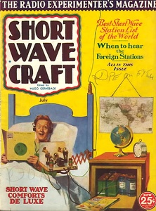 Short Wave Craft 1933-07