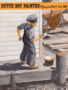 Dutch Boy Painter 1940-07+08