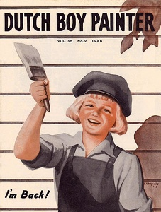 Dutch Boy Painter 1946-03+04