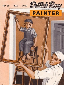 Dutch Boy Painter 1947-01+02