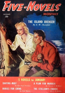 Five Novels Monthly 1940-01